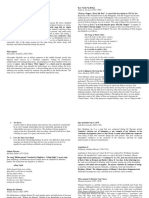 Finalization of Program Notes