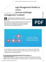 8 Critical Change Management Models to Evolve and Survive _ Process Street