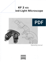 Zeiss KF2 Ics Microscope Operating Manual_B 40-028 e 10_97