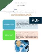 Informe de Ortobiologia