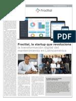 Fracttal en Diario Financiero (Chile - 17-12-2018)