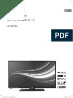 Jvc 50' Led Smart Hd Tv Lt-50c740 Manual