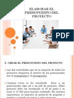 Elaborar El Presupuesto Del Proyecto (1)