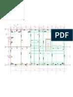 Edificio Bustamante - Plano de Planta - Columnas-model