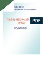 Diseño Organizativo i