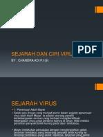 Sejarah Dan Ciri Virus