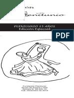 Revista PLENILUNIO N° 68. Año 15. Edición Especial. Memorias y Testimonios