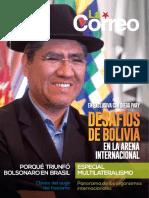 """Revista """"La Correo"""" No. 80 - Noviembre, 2018."""