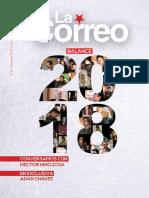 """Revista """"La Correo"""" No. 81 - Diciembre, 2018."""
