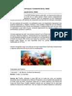 Festivales y Eventos en El Perú