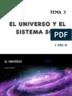 el universo y el sistema solar