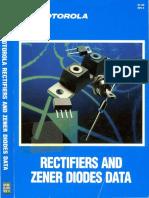 1988 Motorola Rectifiers and Zener Diodes Data
