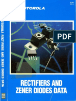 1988 Motorola Rectifiers and Zener Diodes Data