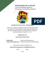 Informe Final de Practicas - Bill Choque Cahui