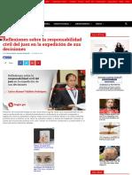 RESPONSABILIDAD CIVIL DE JUECES