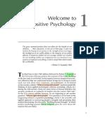Reading 1 Positive Psychology
