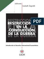 01. Restricciones en La Conducción de La Guerra - Introducción Al DIH
