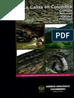 Caliza en Colombia Geologia