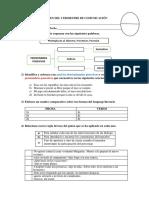 Examen de Comunicación II