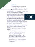 Estudo sobre lagoas de estabilização - Tratamento de Esgoto