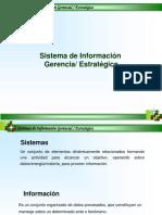 Sistemas Informacion Gerencial y Estrategico