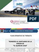 Plan de Tránsito El Quinche 2018