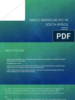 Anglo American Plc in South Africa