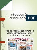 1. Política económica