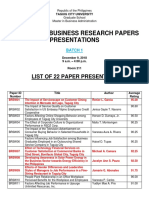 list of paper presenters tcu mba 2018 - batch 1