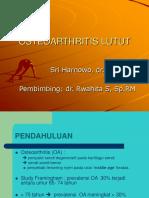 Osteoarthritis Lutut Tayang