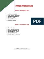 tcu mba business research - best paper presenters 2018