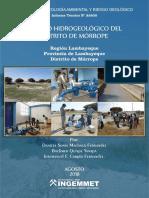 Estudio Hidrogeológico Morrope