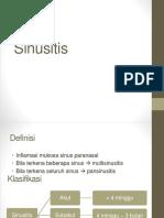 Sinusitis s