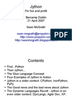 BarCampDublinJythonPresentation