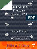 Trabalho Aliança Francesa