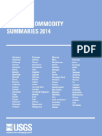 Minerals Commodities Summary 2014