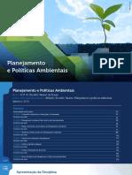 Planejamento e Gestao Ambiental