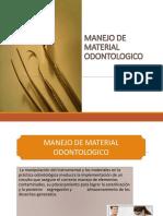 Manejo de Material Odontologico 1