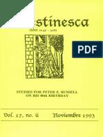 Celestinesca Vol. 17 No. 2