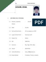 Curriculum Vitae Marcos