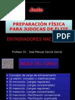 preparacion fisica elite judo