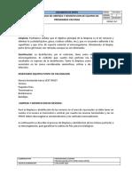 Protocolo Limpieza Equ Vac