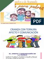 Diapositivas Afecto y Comunicacion