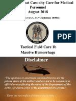 3 TFC 1b Massive Hemorrhage