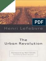 Henri Lefebvre the Urban Revolution