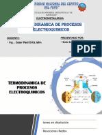 TERMODINAMICA DE PROCESOS ELECTROQUIMICOS expocicion.pptx