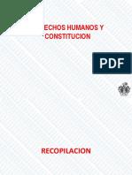 Derechos Humanos y Constitución Perú-2018