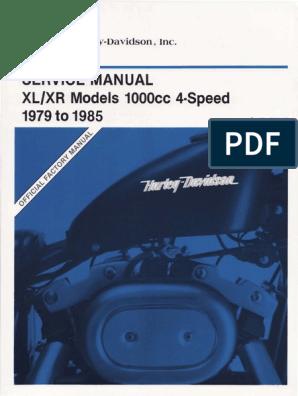 15466566-HDSMSMR11-Harley Davidson Sportster Models ... on
