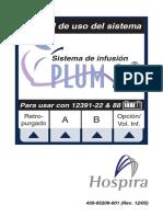 BOMBA DE INFUSION HOSPIRA PLUM A +