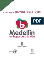 Plan de Desarrollo Medellin 2012 2015